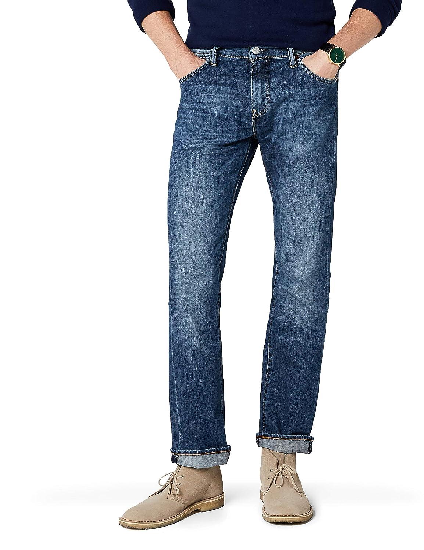 TALLA 36W / 30L. Levi's 527 Slim Boot Cut Vaqueros Corte de Bota para Hombre