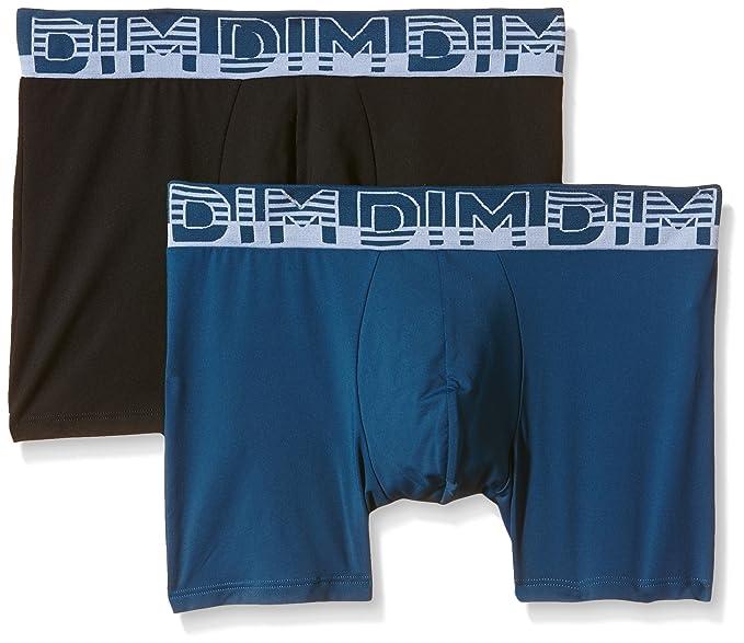 DIM Boxer soft touch microfibra, Culotte para Hombre, Negro (5BV), Intl Medio, EUR 5 (Tamaño del fabricante:3) (Pack de 2): Amazon.es: Ropa y accesorios