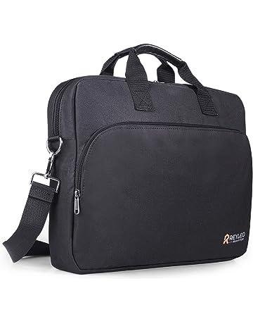 REYLEO Sacoche pour Ordinateur Portable 15,6 Pouces Sac de Messager  Multifonctionnel avec Sangle pour db3f8cbe5a95