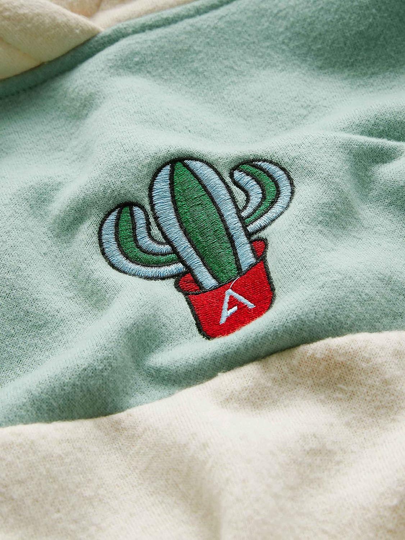 SweatyRocks Women/'s Long Sleeve Colorblock Pullover Fleece Hoodie Sweatshirt Top