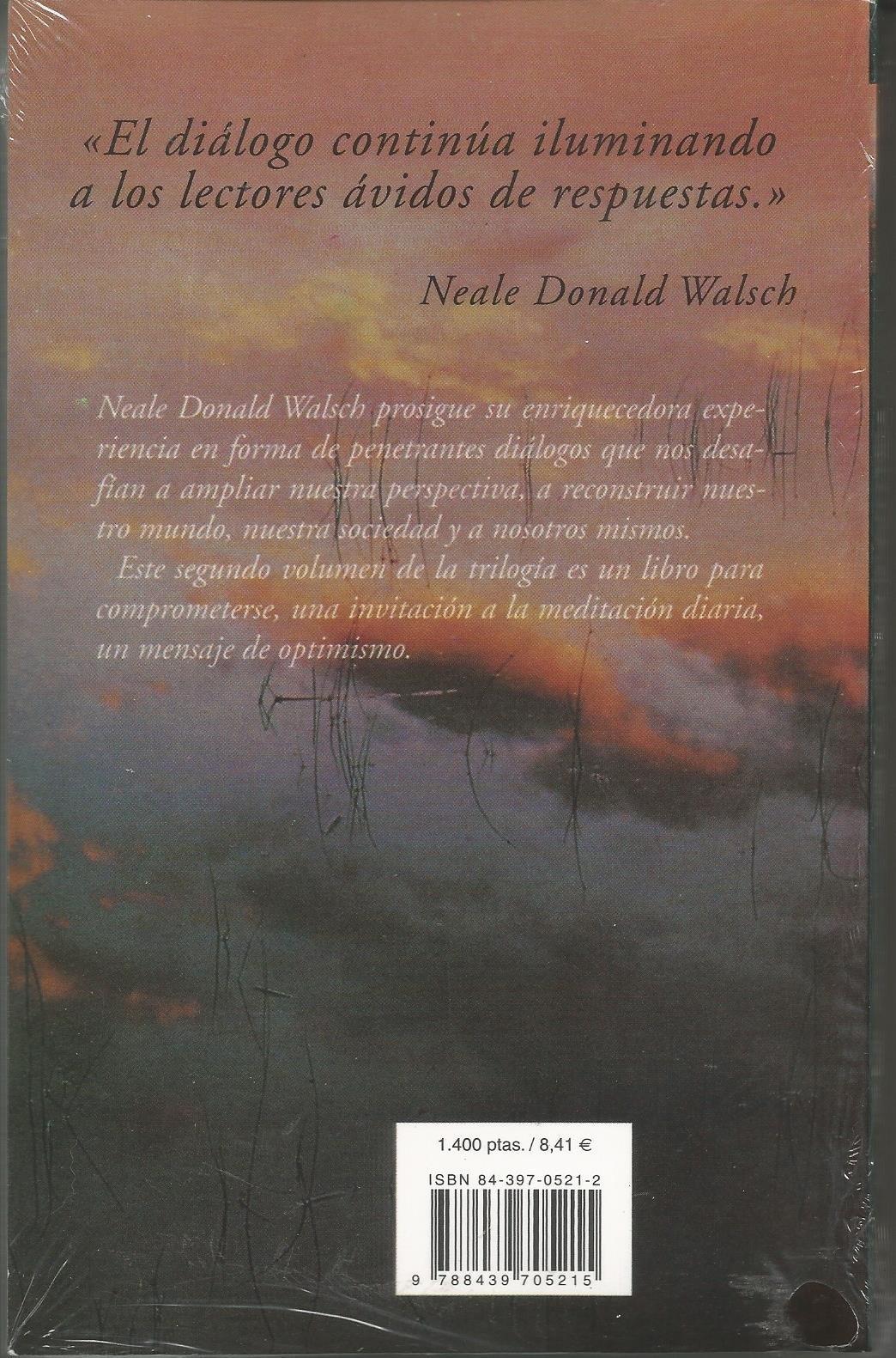 Conversaciones Con Dios 2: Neale Donald Walsch: 9788439705215: Amazon:  Books
