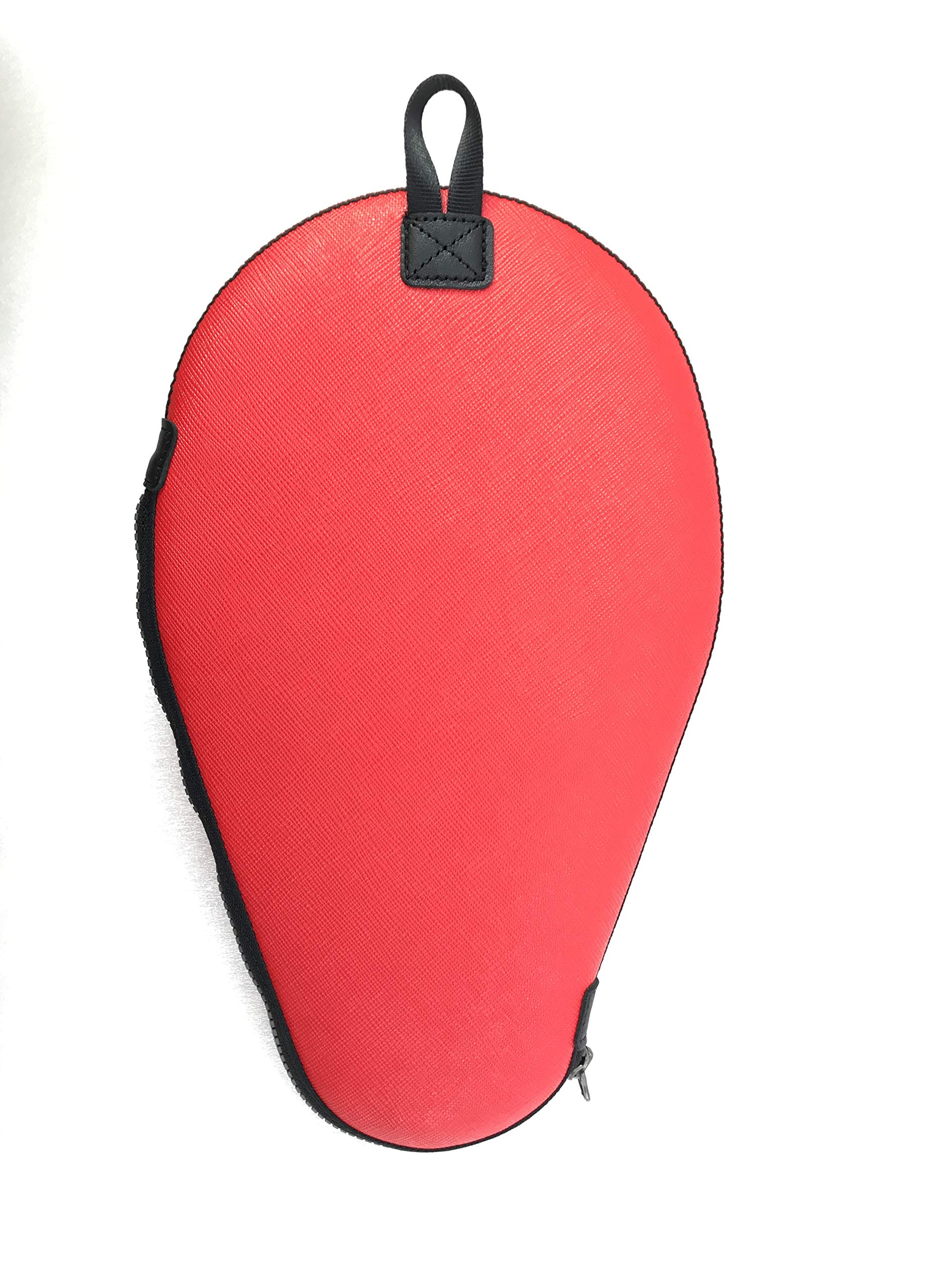 ONEJOY Ping Pong, Table Tennis Racquet Bag,Case,Cover with Zipper AJ61,Loop to Hook, Full Cover 28cm x 17cm for 1 Racquet/Racket/Paddle. by ONEJOY (Image #2)