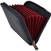 Mala Leather Colección ORIGIN Tarjetero de Crédito Concertina