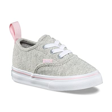 39745575acfa Vans Toddler Authentic (Q6I) (Shimmer Jersey) Gray Pink VN0A38E8Q6I Toddler  Size