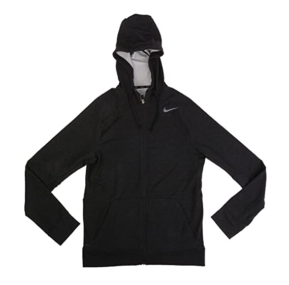 a281a32a Amazon.com: NIKE Men's Dri Fit Touch Training Charcoal Grey Hoodie ...