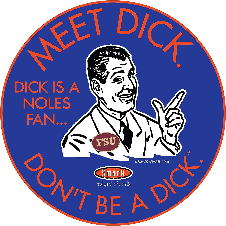 Florida Football Fans Dont Be A D!ck Sm-5X or Sticker Royal T-Shirt