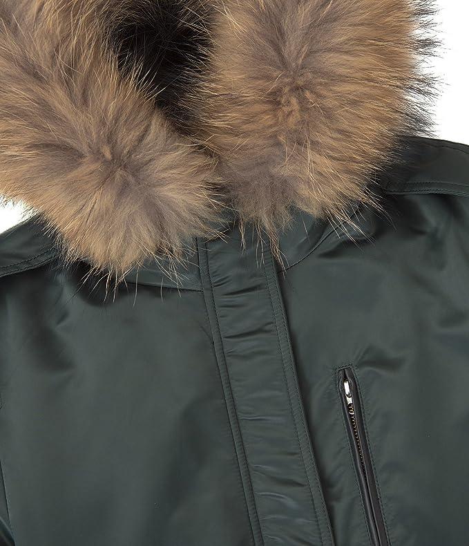 f2f82d227 Mackage Ladies Hooded Down Coat, Reba, Dark Sage (X-Small): Amazon ...