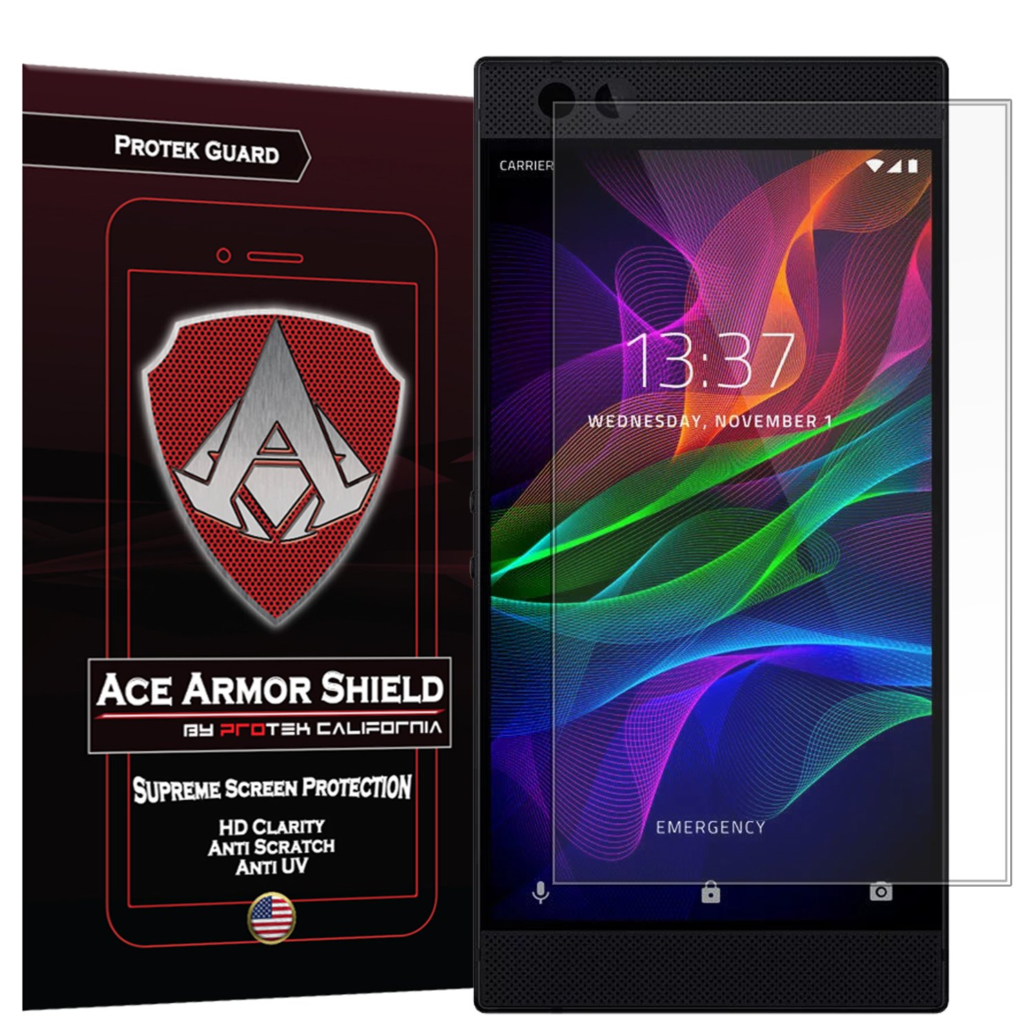 Amazon.com: Razer Phone Screen Protector (2-Pack) Full ...