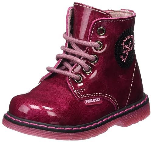 361e00b5fe0 Pablosky 094379 - Botas para niñas, color granate, talla 20: Amazon.es:  Zapatos y complementos