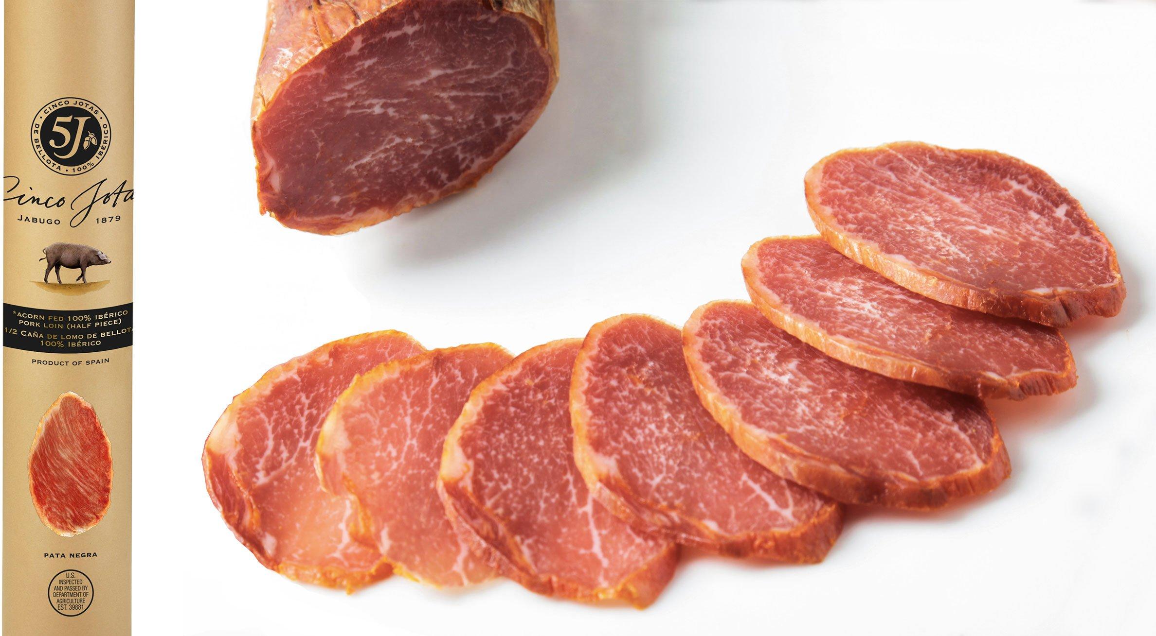 Cinco Jotas (5J) Spanish Acorn-fed Lomo (loin)