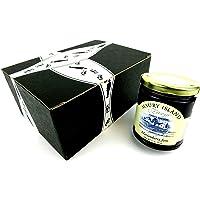 Maury Island Limited Harvest Marionberry Jam, 11 oz Jar in a BlackTie Box