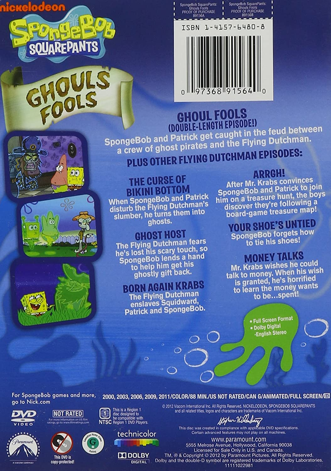 amazon com spongebob squarepants ghouls fools spongebob