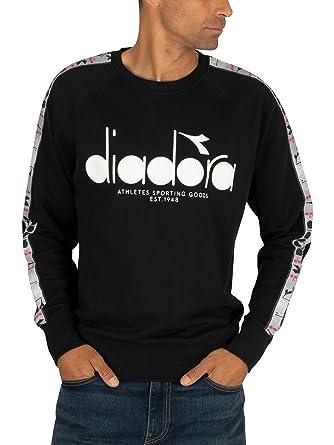 Diadora Uomo T Shirt 5Palle Offside, Blu, S: Amazon.it