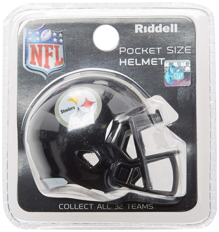 Riddell Pittsburg Steelers NFL Velocidad Bolsillo Pro Micro/tamaño de Bolsillo/Mini Casco de fútbol: Amazon.es: Deportes y aire libre