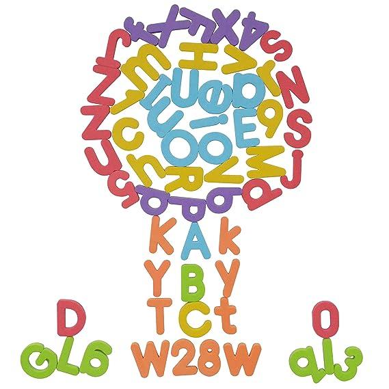 Magnético Letras del alfabeto y números educativos imanes para ...