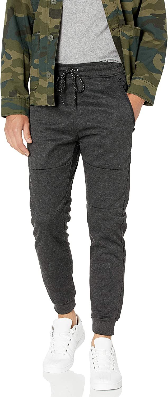 Southpole Men's Tech Fleece Basic Jogger Pants-Reg and Big & Tall Sizes: Clothing