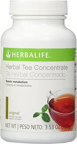 HERBALIFE HERBAL TEA CONCENTRATE - ORIGINAL FLAVOR 3.53 OZ