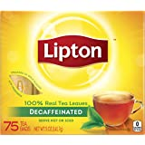 Lipton Black Tea Bags, Decaffeinated 75 ct