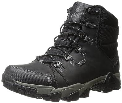 Amazon.com | Ahnu Men's Coburn Lightweight Mid Hiking Boot, Black ...