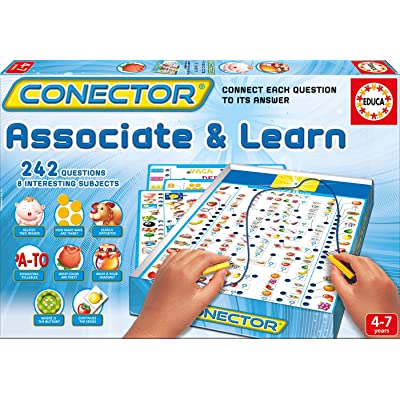 Educa Conector Associate & Learn Game, One Color: Toys & Games