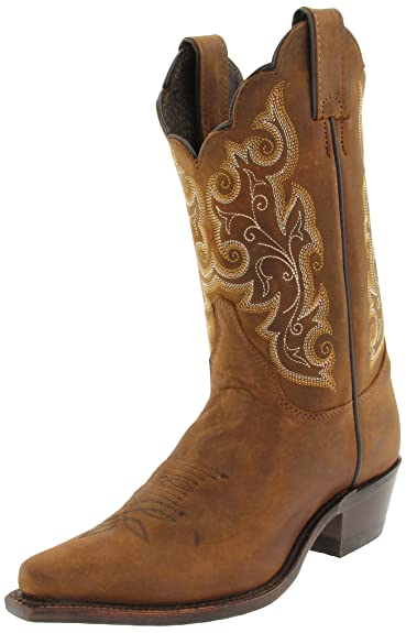 "a56cbe6cc Justin Boots Women's U.S.A. Classic Western 10"" Boot Narrow Square Toe  Leather Outsole,Bay"