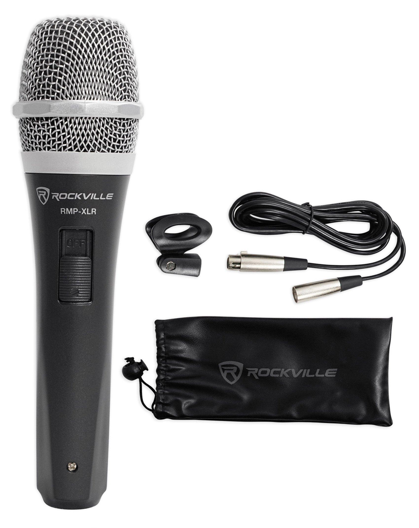 Microfono Rockville RMP-XLR Dynamic Cardiod Professional ...