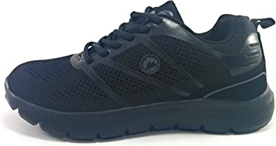J`Hayber Zapatillas Memory Foam para Mujer (36 EU, Negro): Amazon.es: Zapatos y complementos