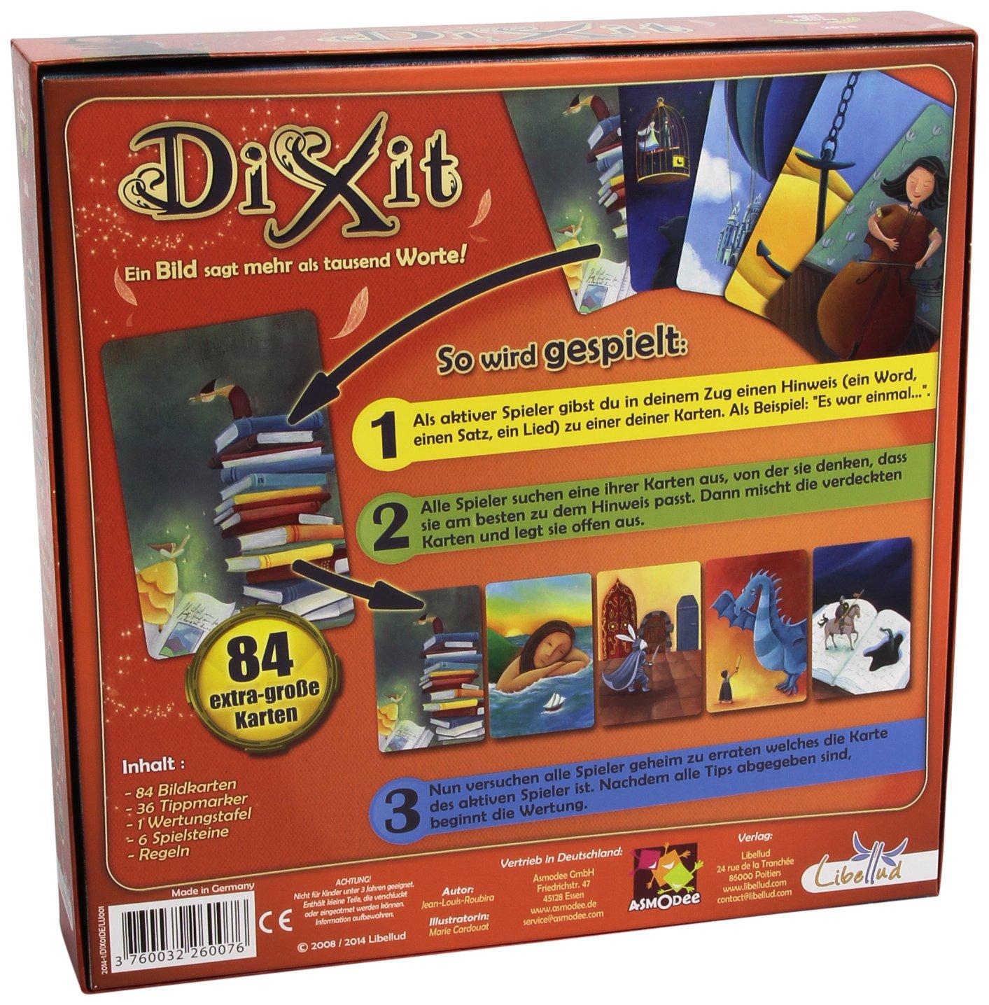 Dixit (versión en alemán): Amazon.es: Juguetes y juegos