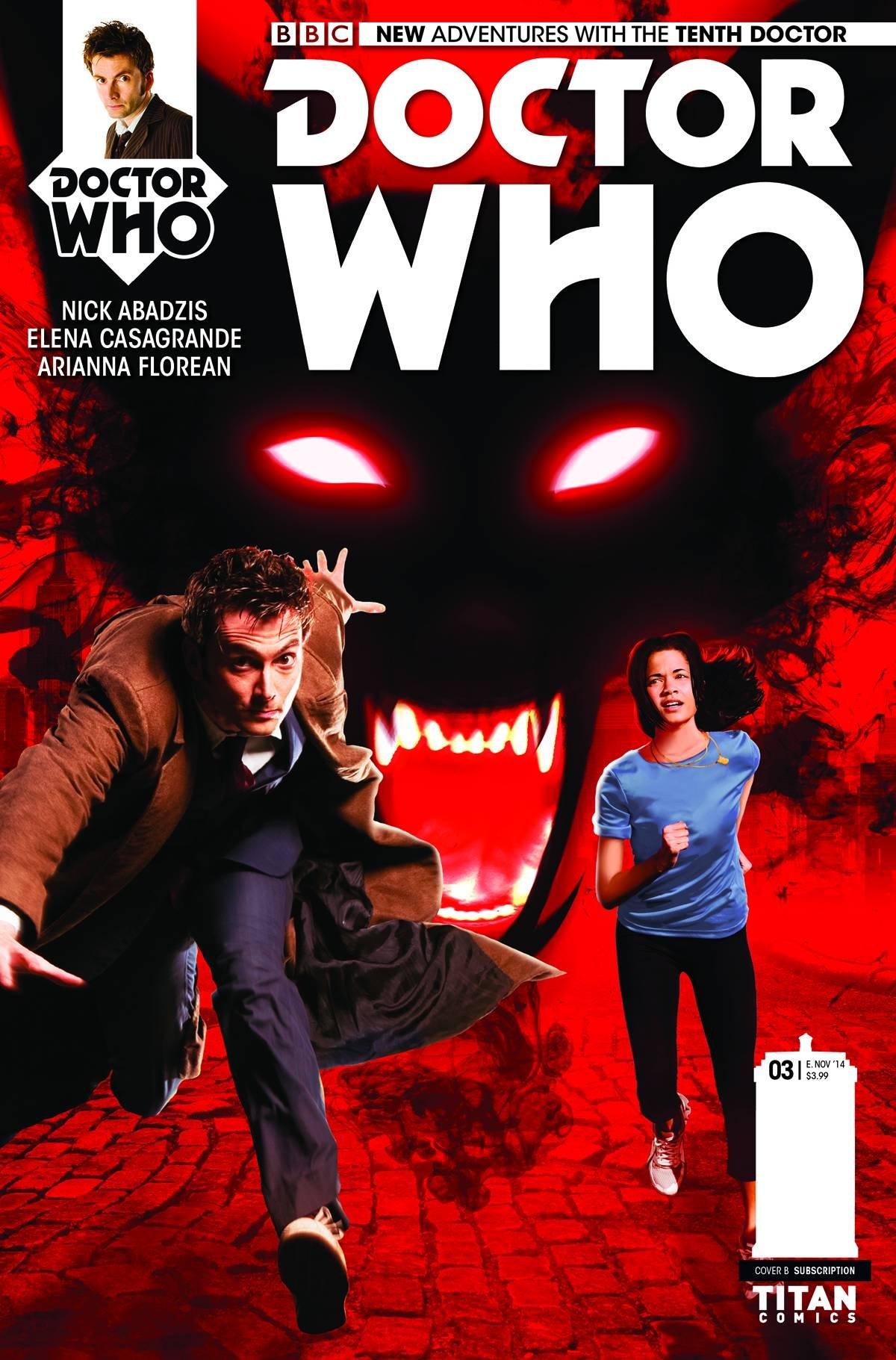 Doctor Who 10th #3 Subscription Photo Variant pdf epub