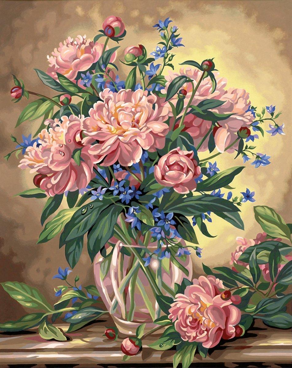 Pintura por Numeros (18625204) flores