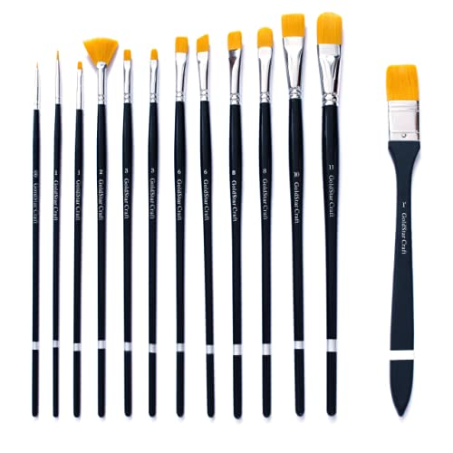 6 best acrylic paint brushes 2018 consumer runner for Types of acrylic paint
