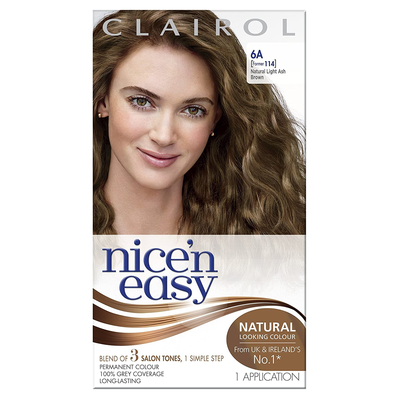 Garnier belle color 73 dark golden blonde dark brown hairs - Clairol Nice N Easy Permanent Hair Colour 114 Natural Light Ash Brown Amazon Co Uk Beauty
