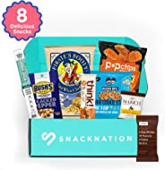 SnackNation - Ultra-Premium Healthy Snack Box Subscription Deluxe Variety Bars, Chips, Sweets for Gifts, Holid