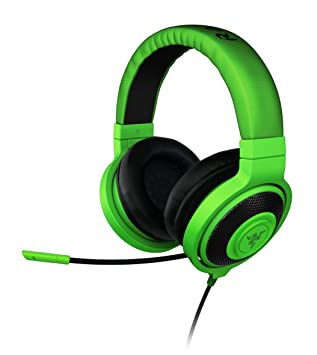 1e253285aa9 Razer Kraken Pro Analog Gaming Headset - Green: Amazon.co.uk ...