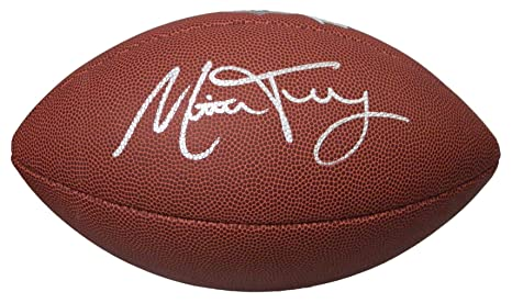 Mitchell Trubisky Signed Wilson Limited Full Size NFL Football at ... b6f286763