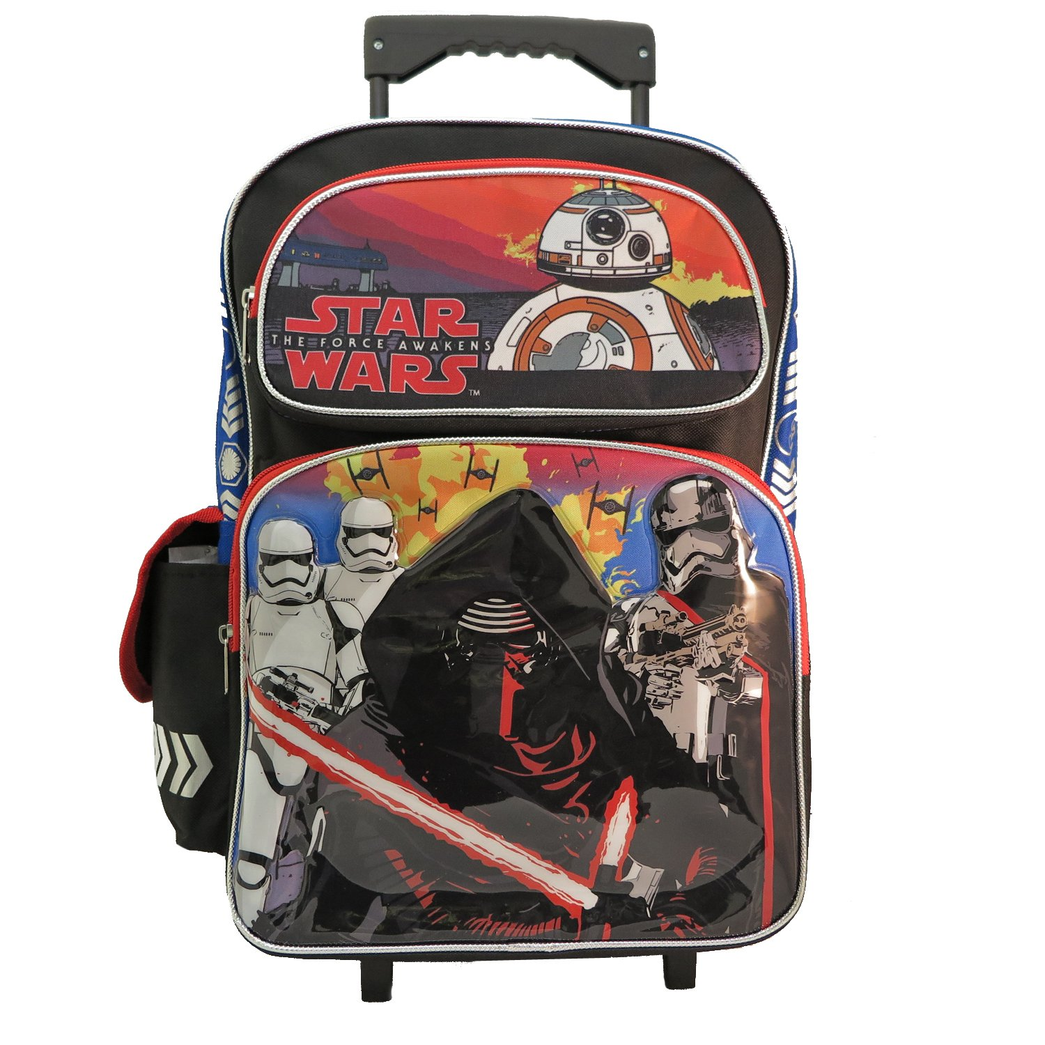 4dc11fbc62 Large Rolling Backpack - Star Wars - The Force Awakens BB8 New 663957   Computer and Video Games - Amazon.ca