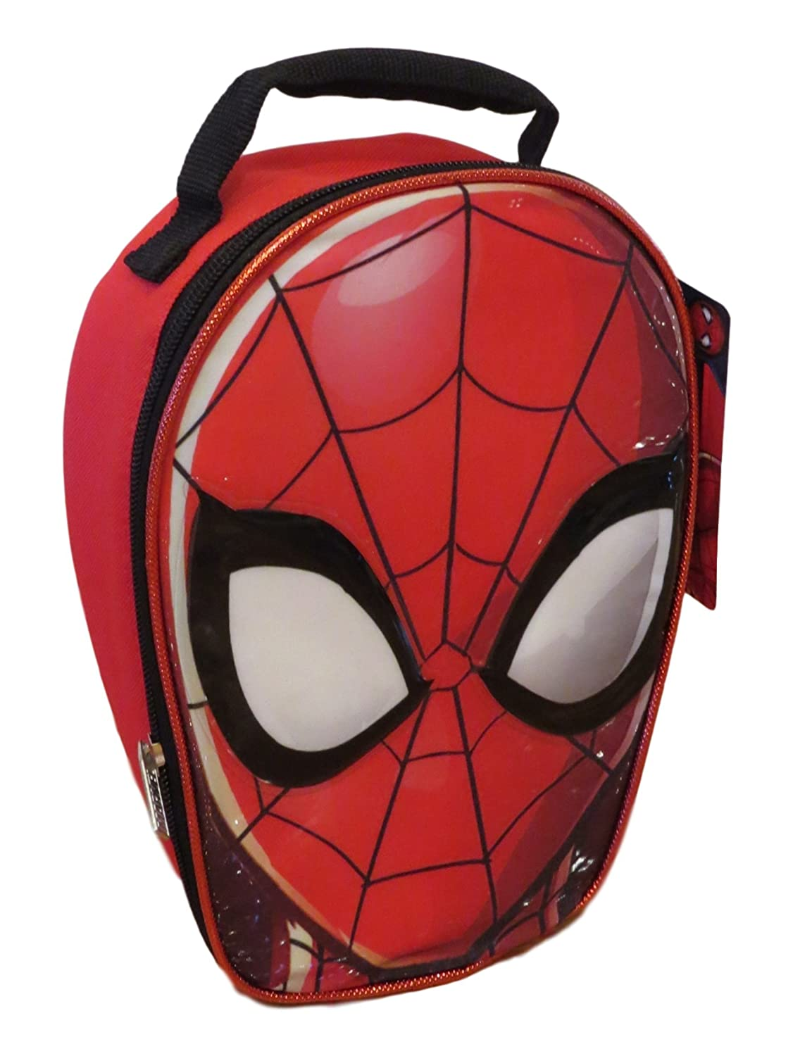 Marvel Spider-man Face Shaped Insulated Lunch Box