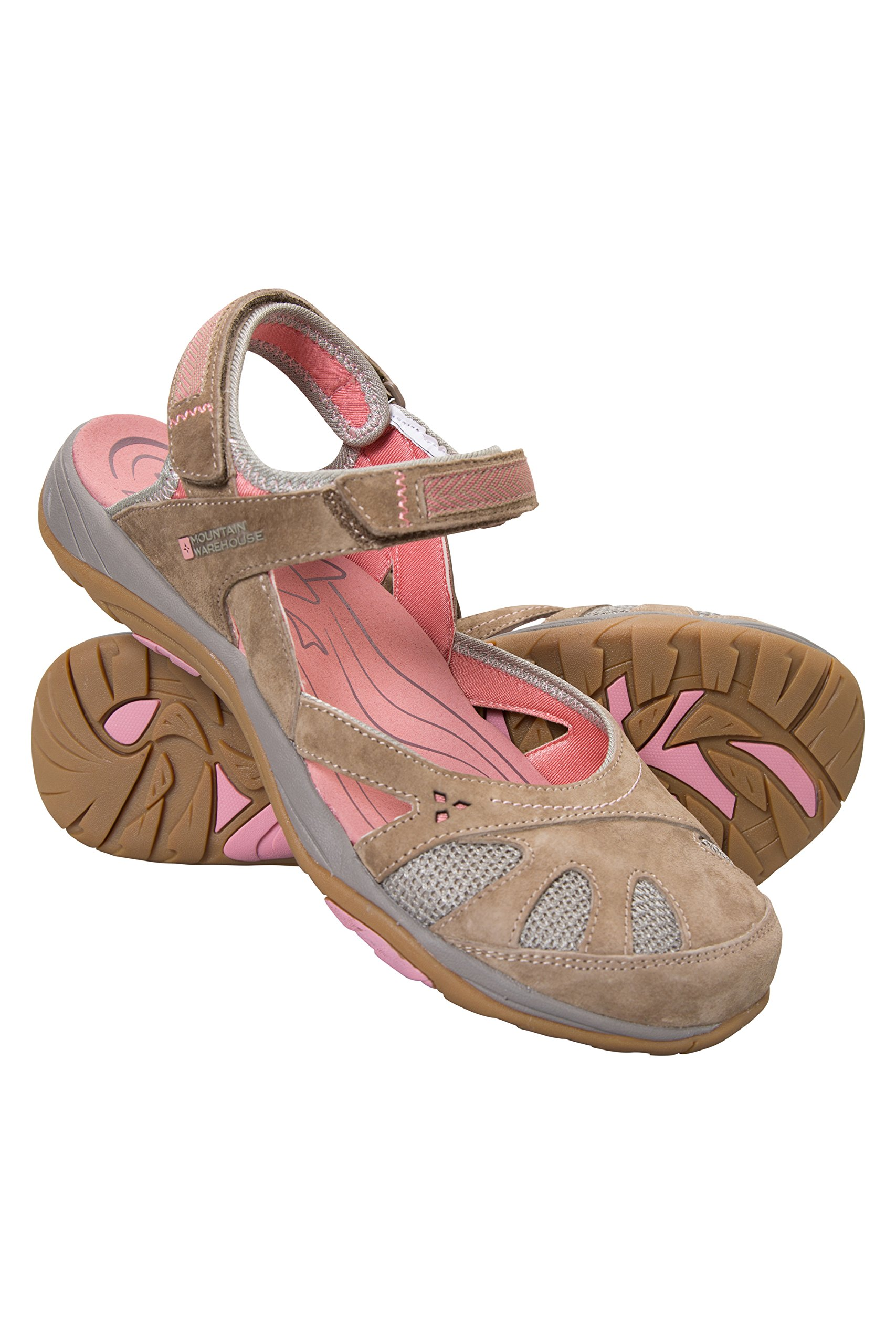 Mountain Warehouse Jasmine Womens Sandals -Ladies Summer Walking Shoes Brown 7 M US Women