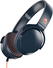 Skullcandy Riff On-Ear Headphones Microphone, Refined Acoustics, Foldable, Call Track Control, Plush Ear Cushions Durable He