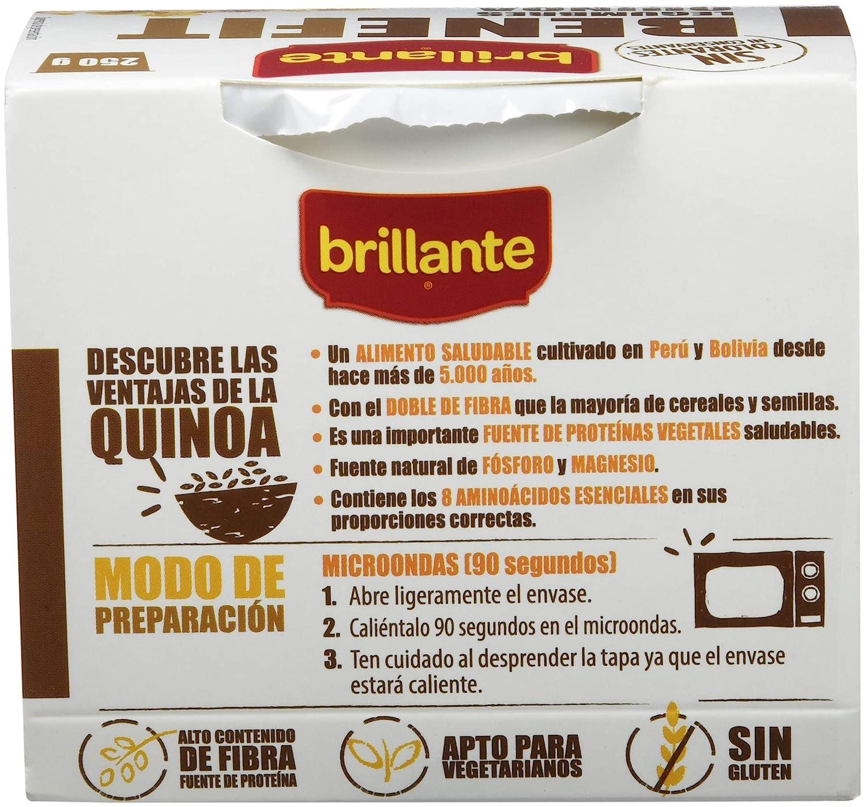 BRILLANTE Benefit legumbres, quinoa y verduras vaso 250 gr: Amazon.es: Alimentación y bebidas