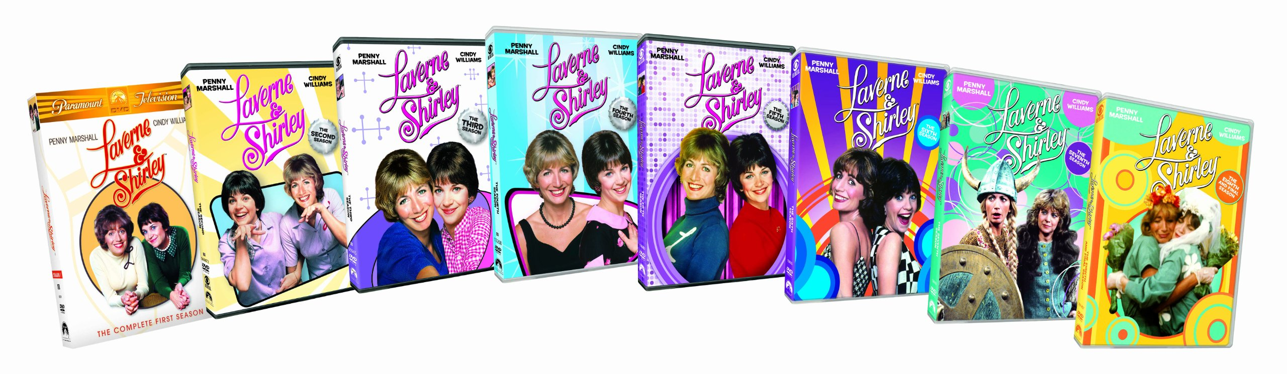 Laverne & Shirley: Complete Series Pack by Bottle Cap Co.