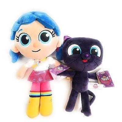 "Aurora World Bundles True and The Rainbow Kingdom - True 12"" and Bartleby 8.5"" Plush Netflix TV Series: Toys & Games"