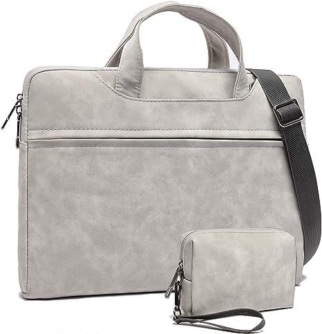 Laptop Tote Bag for Women Large Computer Handbags Laptop Shoulder Messenger