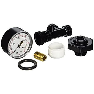 Pentair 24850-0105 Valve and Gauge Assembly Replacement for Select Sta-Rite Pool and Spa Filters - Black: Garden & Outdoor