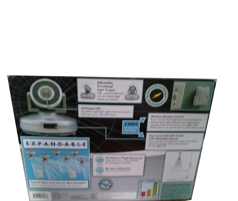 com lumen pk led high output spotlights w remote com lumen 3 pk led high output spotlights w remote control patio lawn garden