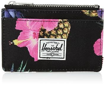22be1ba0d4a93 Herschel Oscar RFID Wallet Geldbeutel Portemonnaie Geldbörse (Black  Pineapple)