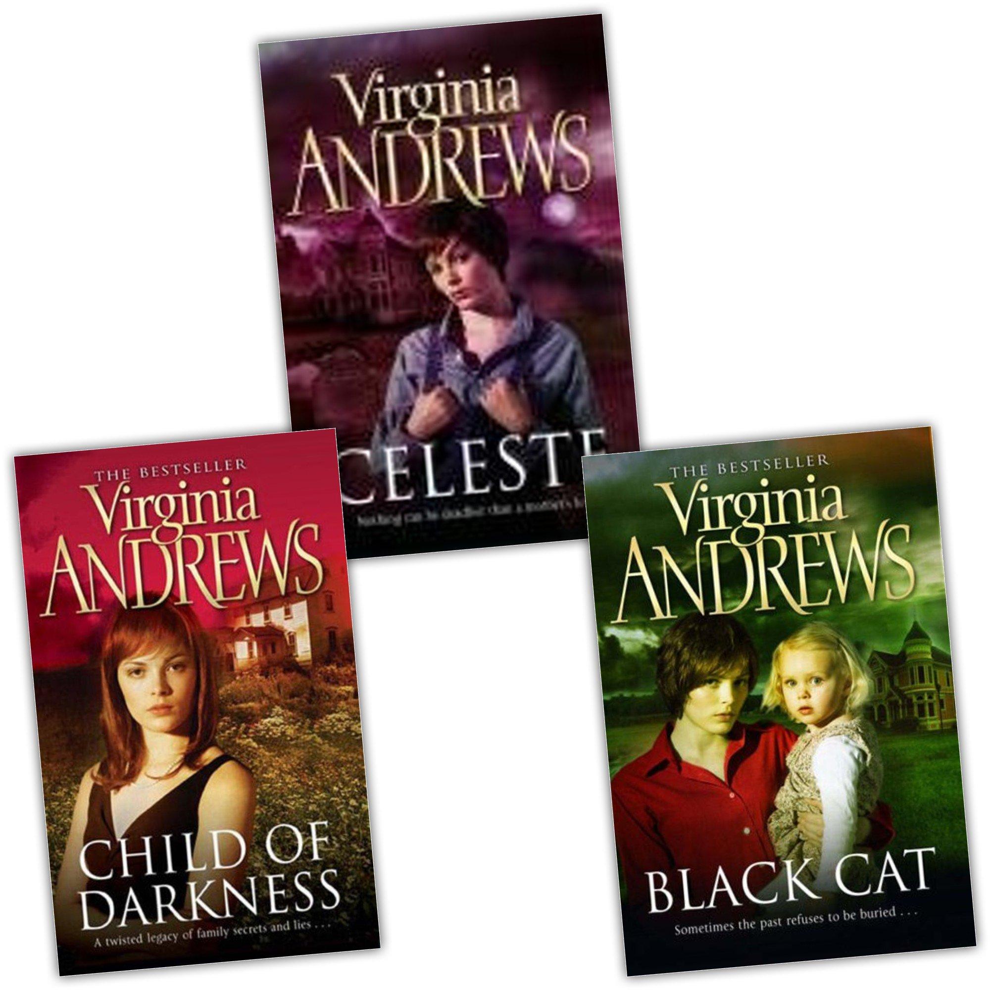 Download Virginia Andrews Gemini Series 3 Books Set Collection Pack (Celeste, Black Cat, Child of Darkness) (Gemini Series) pdf