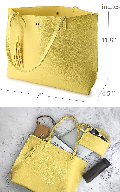 Amazon.com: Minimalist - Bolso de mano para mujer, de piel ...