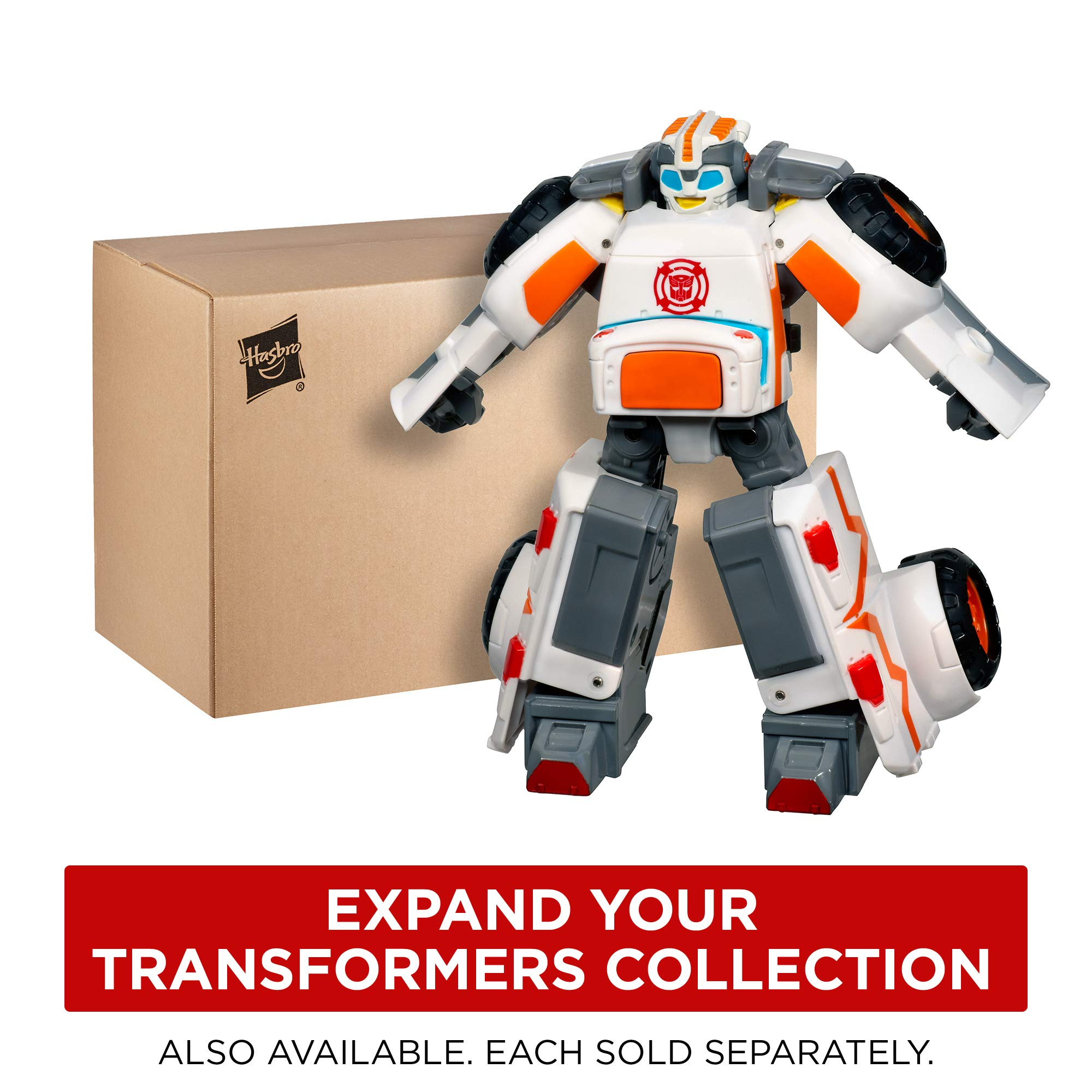 Playskool Heroes Transformers Rescue Bots Optimus Prime Action Figure, Ages 3-7 (Amazon Exclusive) by Playskool (Image #6)