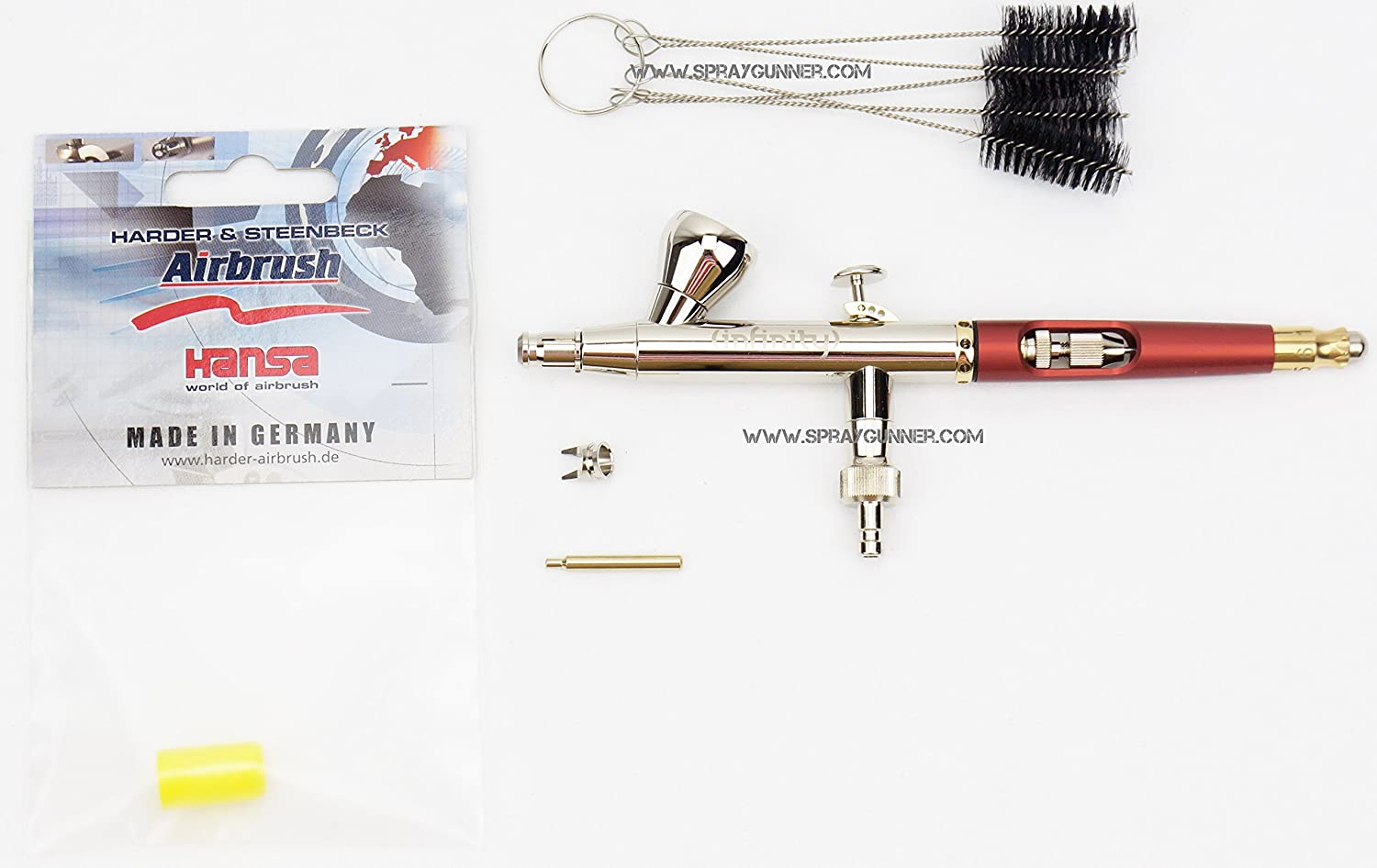 Harder and Steenbeck Infinity solo 0.15mm 126533 with cleaning brush set